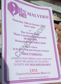Malvern 2016