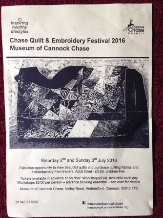 Cannock Chase Quilt Festival
